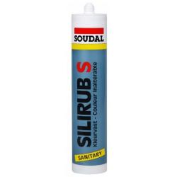 Soudal SILIRUB S sanitarinis silikonas