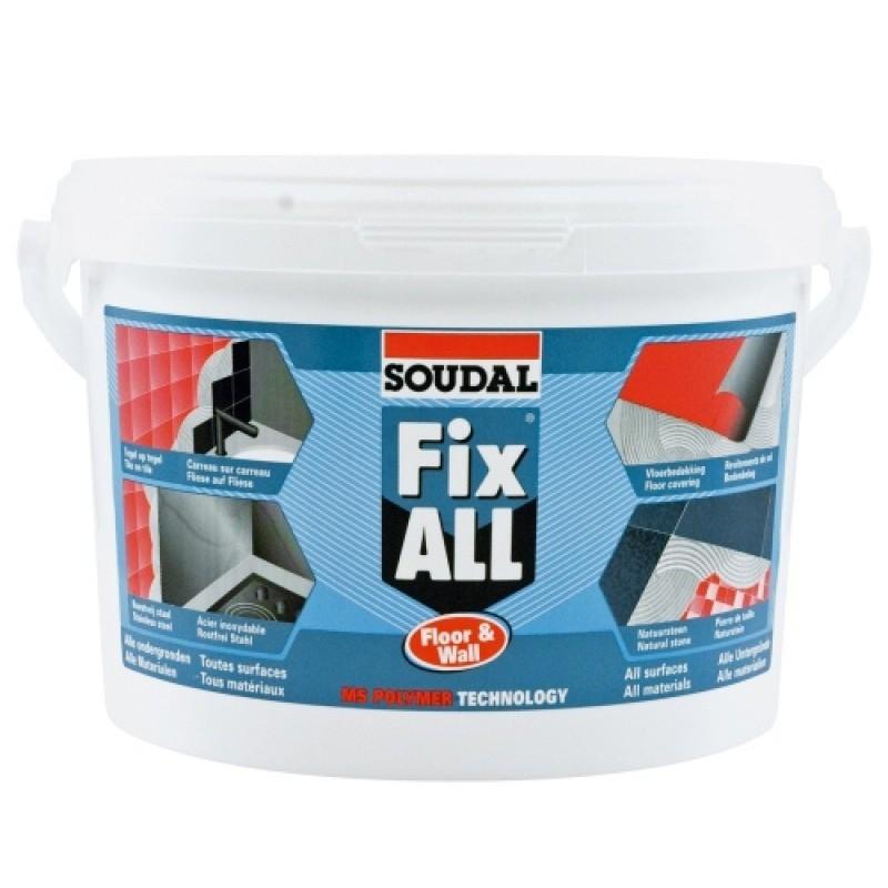 Konstrukciniai klijai Soudal Fix ALL Floor & Wall