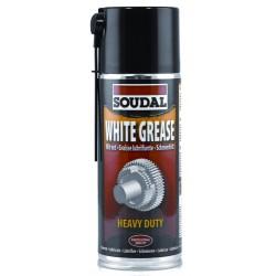 Baltas tepalas su teflonu Soudal White Grease