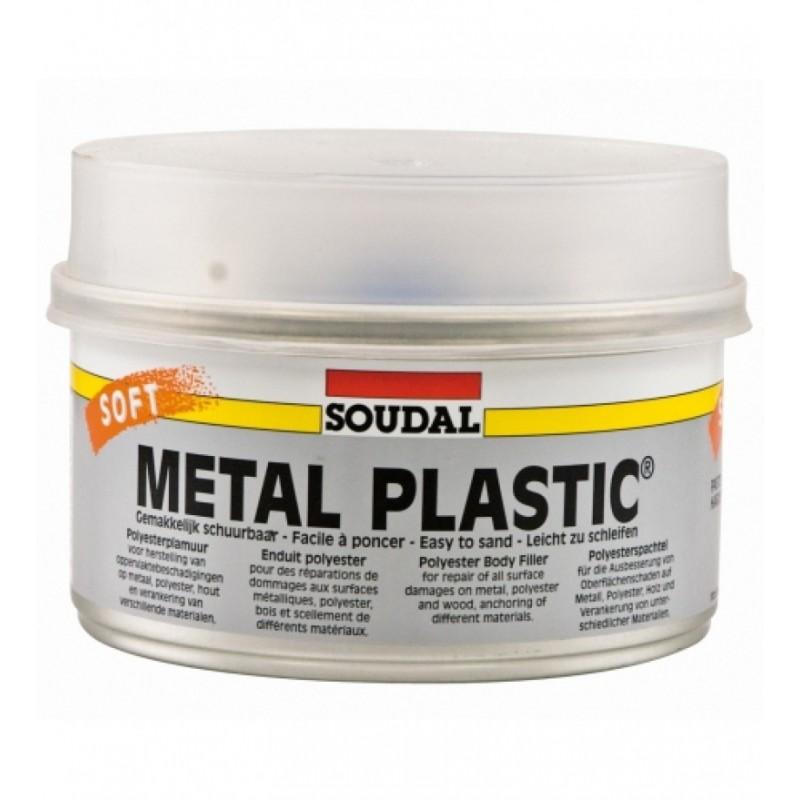 Glaistas Soudal METAL PLASTIC SOFT
