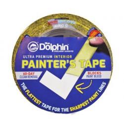Ryžių popieriaus juosta Washi tape Blue Dolphin