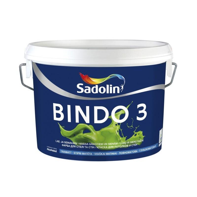 Sadolin Dažai BINDO 3 W0 2,5 L.