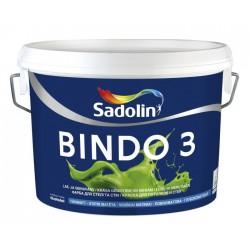 Sadolin Dažai BINDO 3 W0 10L.