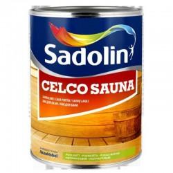 Blizgus, pusiau matinis lakas Sadolin Celco Sauna 1L.