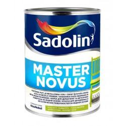 Pusiau matiniai Vandeniniai alkidiniai dažai Sadolin Master Novus 15 1l.