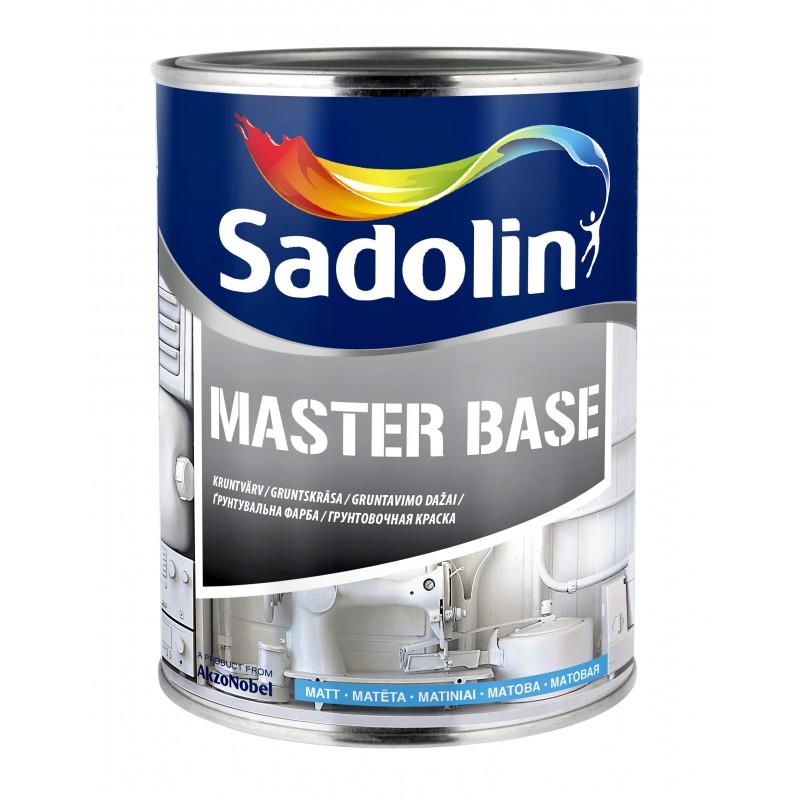Visiškai matiniai gruntavimo dažai Sadolin Master Base BW 1l.