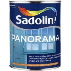 Pusiau blizgūs langų ir durų dažai Sadolin Panorama 1l.