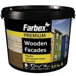 Dažai mediniams fasadams Farbex PREMIUM 6kg.
