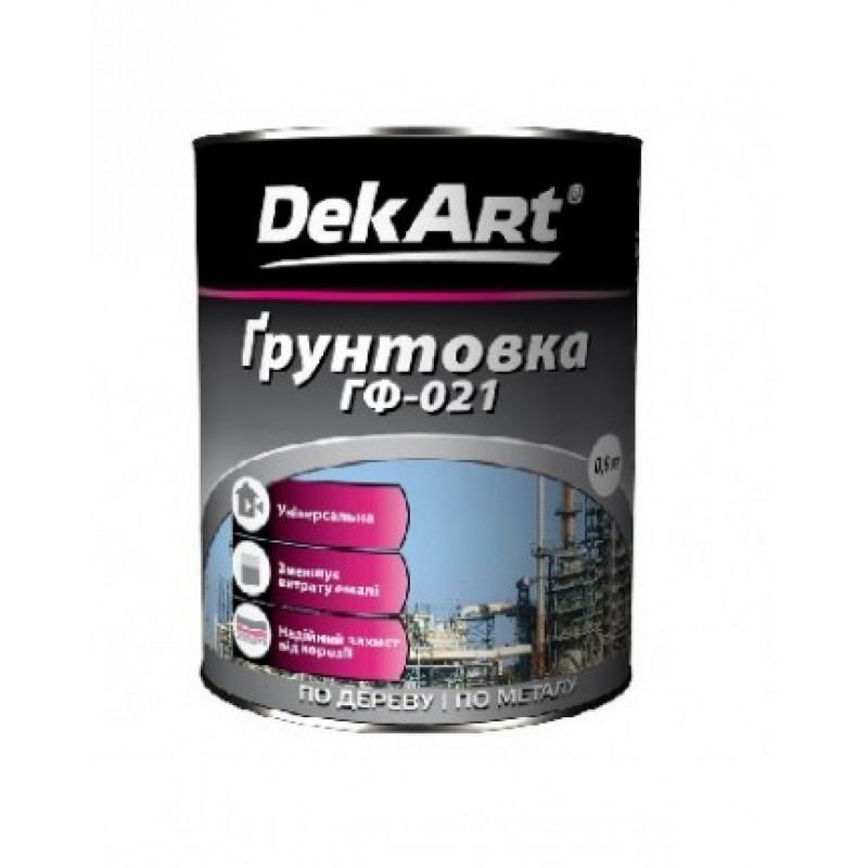 Antikorozinis gruntas Dekart 1x6 GF-021 2.8 kg.
