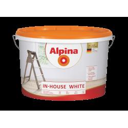 Dažai sienoms ir luboms Alpina In-House White