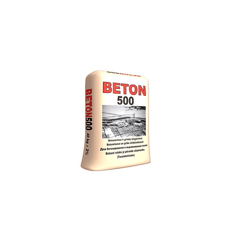 Smulkiagrūdis betonas BETON...