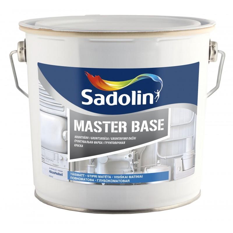 Visiškai matiniai gruntavimo dažai Sadolin Master Base BW 2.5 l.