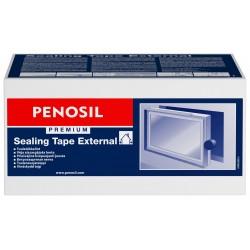 PENOSIL Premium išorinė priešvėjinė, kvėpuojanti sandarinimo juosta, 3 klijų juostos