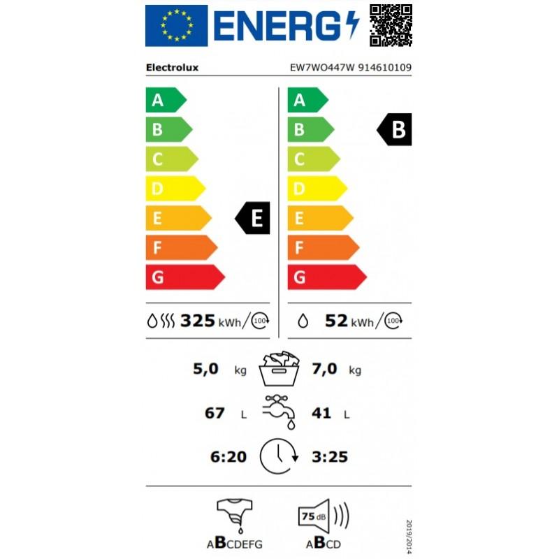 Skalbyklė ELECTROLUX EW7WO447W