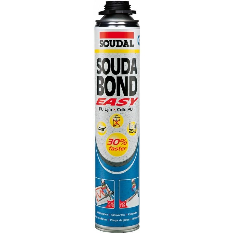 Soudal poliuretaniniai klijai Soudabond easy gun blue 750ml