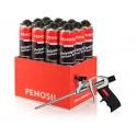 PENOSIL Premium Polystyrol FixFoam 877 klijuojančios putos 12 vnt. + putų pistoletas