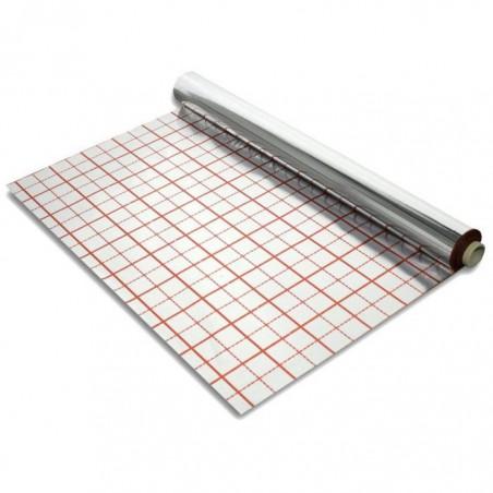 Aliumininė plėvelė šildomoms grindims Eurovent AluFloor 110g 50kv.m