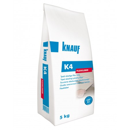 Elastingi plytelių klijai Knauf K4