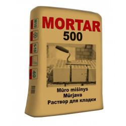 Mūro mišinys MORTAR 500