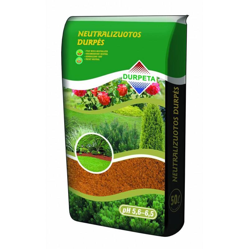 Neutralizuotos durpės (pH 5-6) 50 L