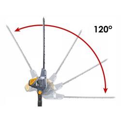 Elektrinės gyvatvorių žirklės teleskopinės, 900W