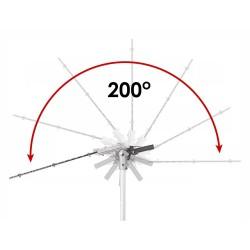 Elektrinės gyvatvorių žirklės teleskopinės, 1200W