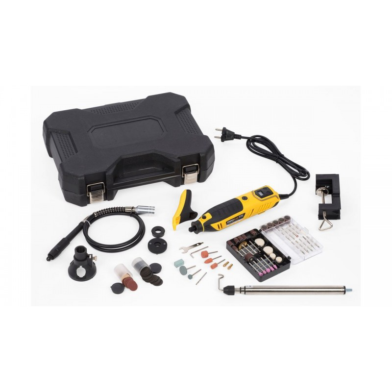 Daugiafunkcinis įrankis (šlifuoklis) su priedais, 200W