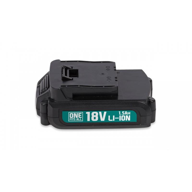 Akumuliatoriaus baterija 18V Li-ion, 1.5Ah
