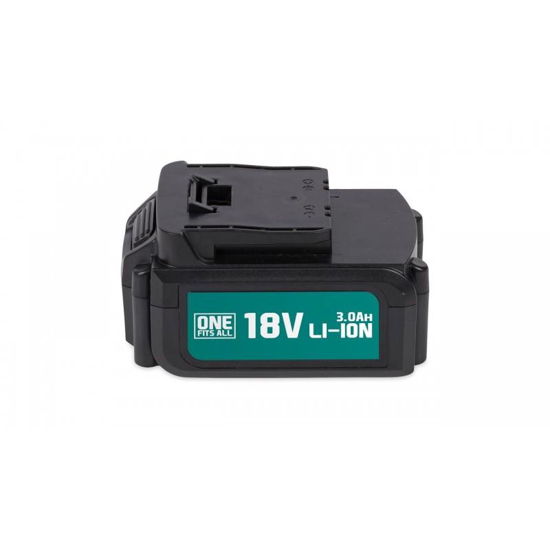 """Akumuliatoriaus baterija, 18V-Li-ion, 3Ah """"One Fits All"""""""