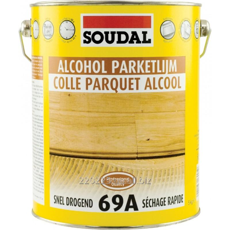 Parketo klijai SOUDAL 69A, 5kg