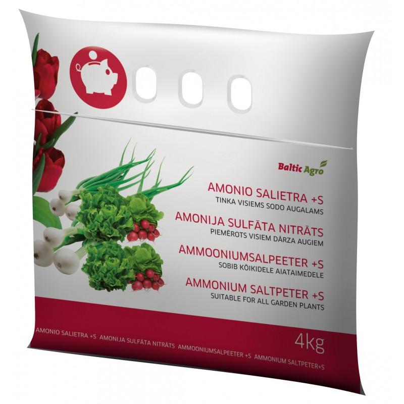 Amonio salietra S+ 4 kg