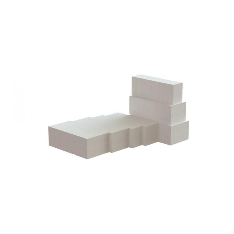 Akyto betono blokeliai ROCLITE 250 mm.