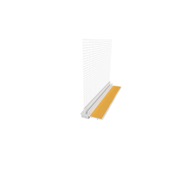 PVC deformacinis profilis su tinkleliu EJOT 108 9mm PLUS
