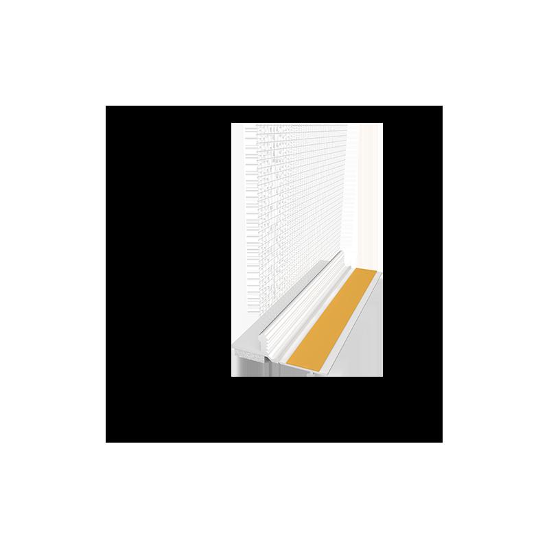 PVC deformacinis profilis su tinkleliu EJOT 120 PLUS