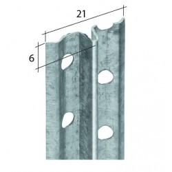 Profilis tinkavimui EJOT 4100 6mm 3m.