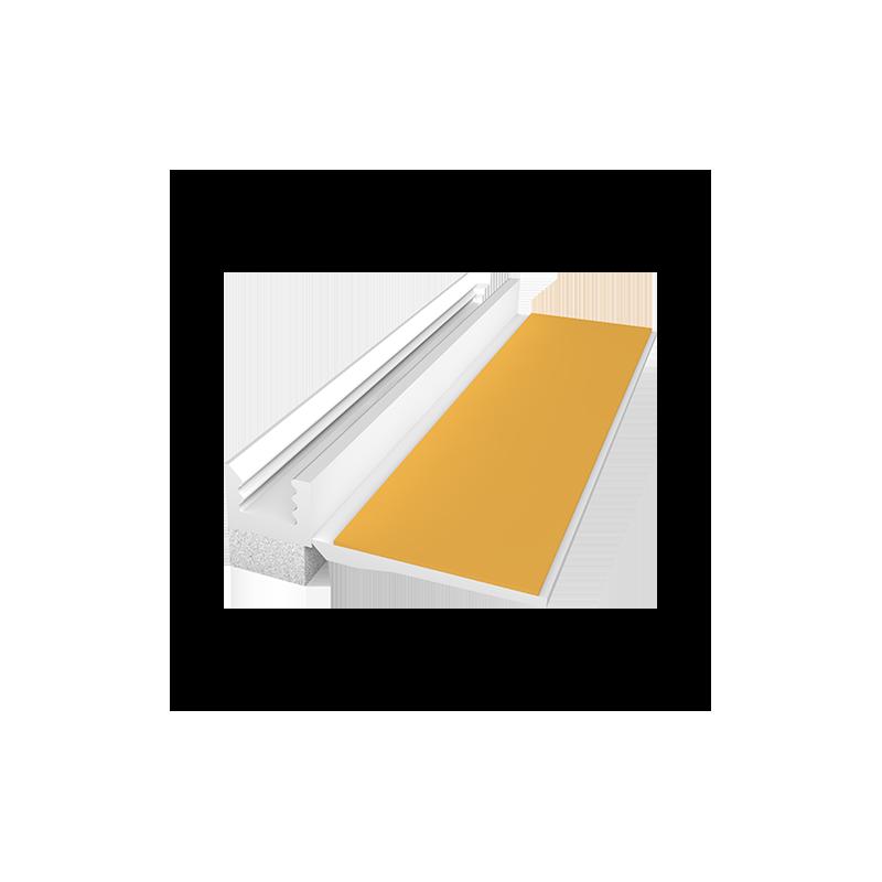 PVC deformacinis profilis EJOT 108 6mm